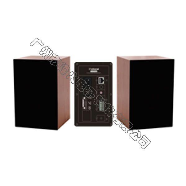 IP网络有源壁挂式扬声器 2x50W——高端版