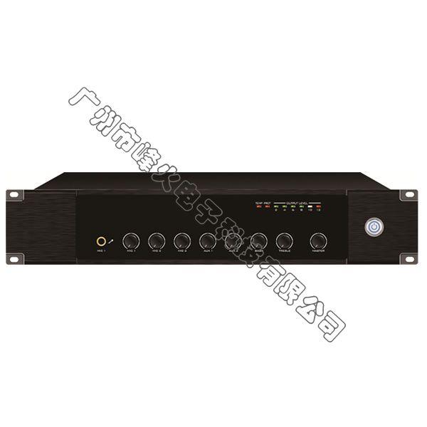 IP网络单向点播合并式广播功放 650W