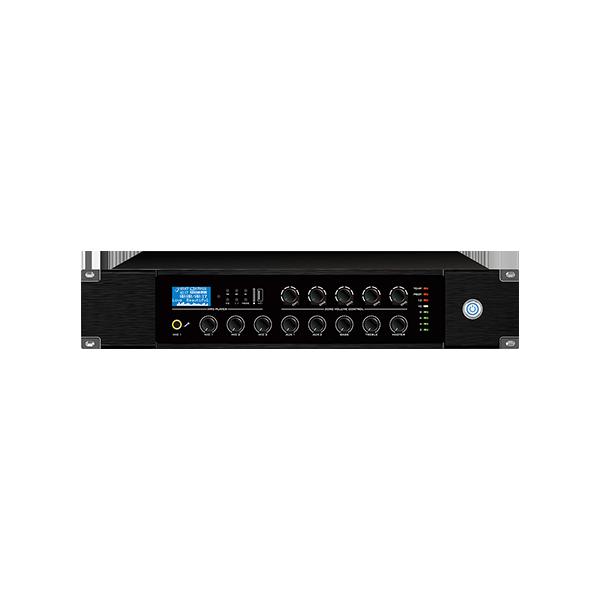 多音源五分区独立音量控制合并式广播功放 120W