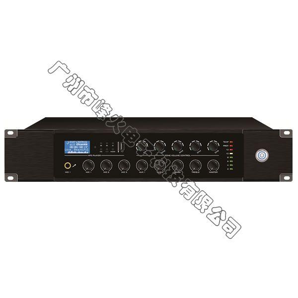 多音源五分区独立音量控制合并式广播功放 60W