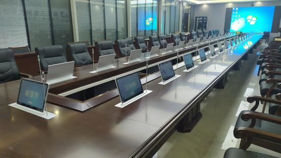 节前喜讯,峰火电子助力广东水电二局建设无纸化会议系统03