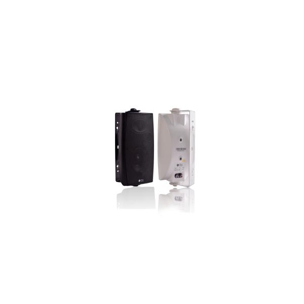 豪华型塑料壁挂式扬声器【B 黑色,W 白色】 20W